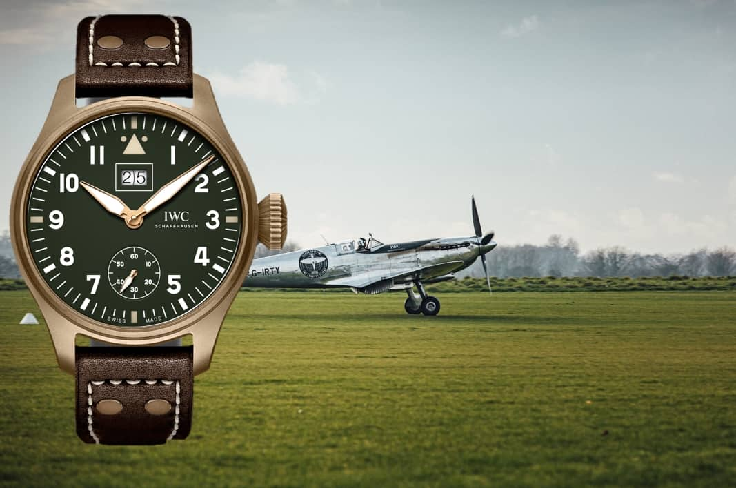 IWC Big Pilot's Watch Big Date Spitfire Edition Mission Accomplished