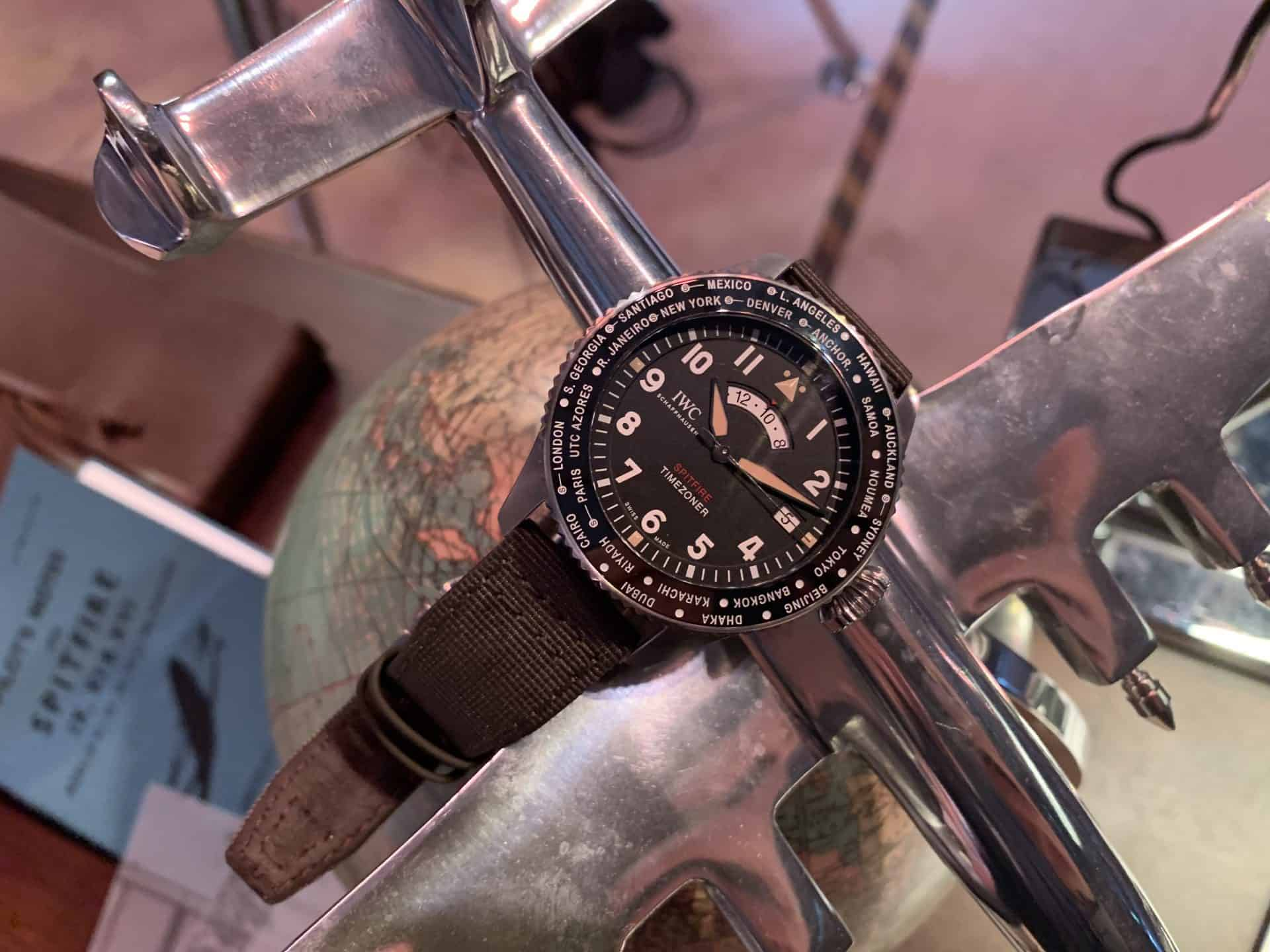 IWC Timezoner Spitfire The Longest Flight, Referenz IW395501