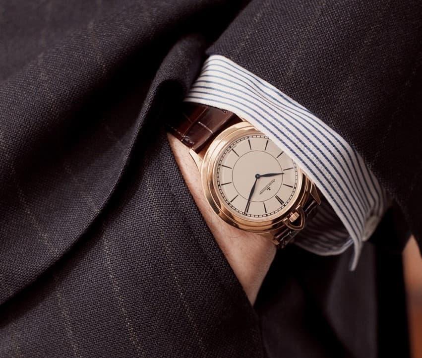 Die passende Uhr zum Anzug
