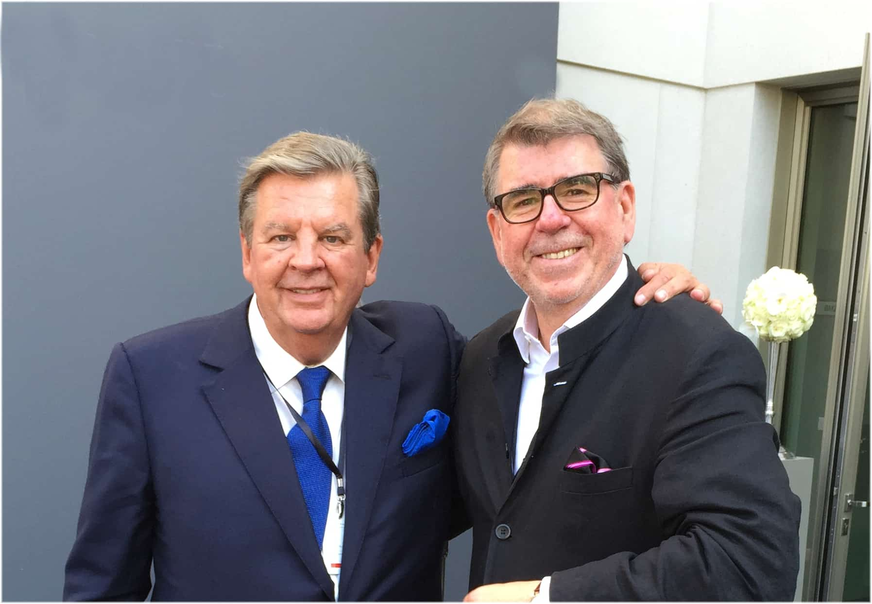 Johann Rupert, Richemont Group und Gisbert Brunner, Uhrenkosmos