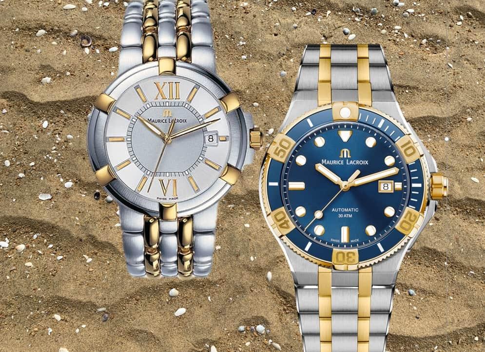 Uhr-Evolution von der Maurice Lacroix Calypso zur Maurice Lacroix Aikon Venturer Bicolor