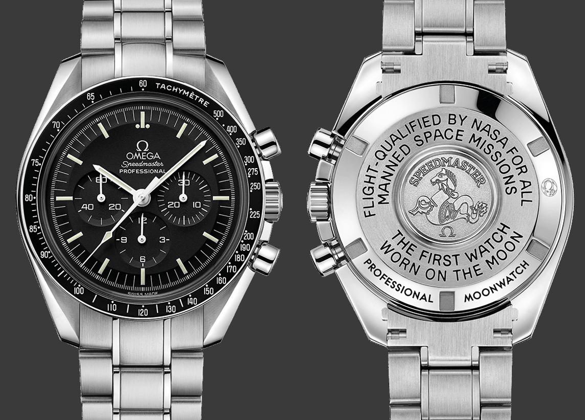Eine schöne Uhr und noch gut erhältlich - die Omega Speedmaster Professional Moonwatch Chronograph 42 mm. Gleichwohl kein Renditeobjekt.