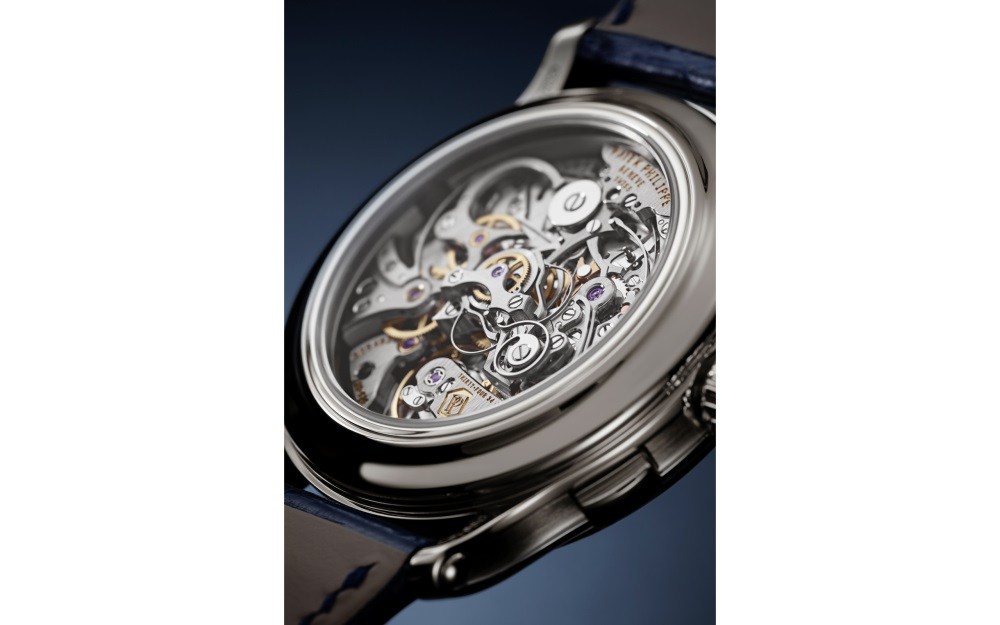 Die Grande Complication von Patek Philippe zeigt exquisite Technik durch den Glasboden