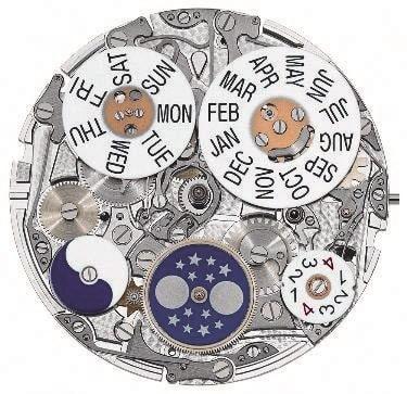 Die aufwendige Kalender-Kadratur der Referenz 5270 von Patek Philippe