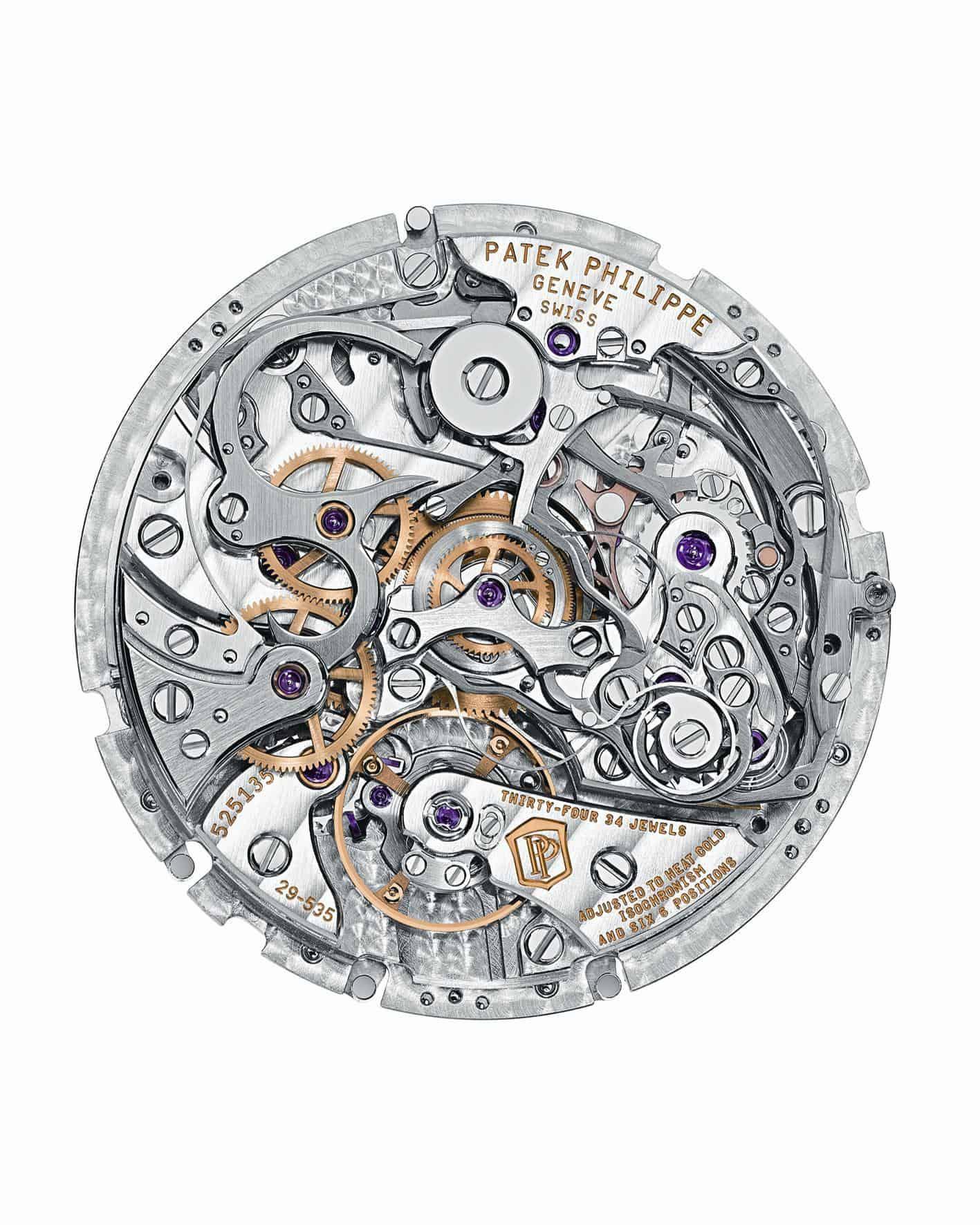 Das Patek Philippe Kaliber CHR 29-535 PS - ein phantastischer Schleppzeiger-Chronograph