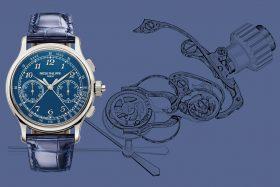 Patek Philippe 5370P-011:  ein Schleppzeiger-Chronograph der Extraklasse