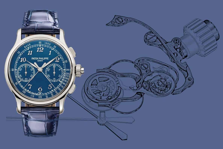 Patek Philippe 5370P-011 Schleppzeiger-Chronograph Patek Philippe 5370P-011:  ein Schleppzeiger-Chronograph der Extraklasse