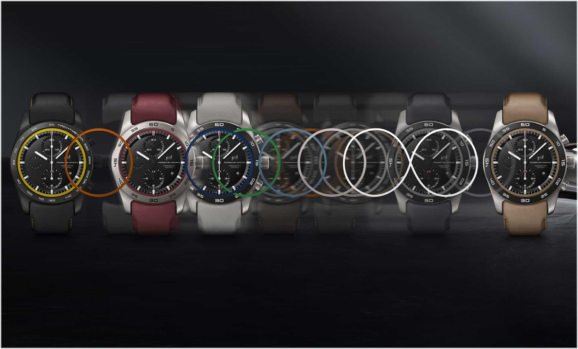 Der Im Porsche Design custom-built Timepieces Konfigurator
