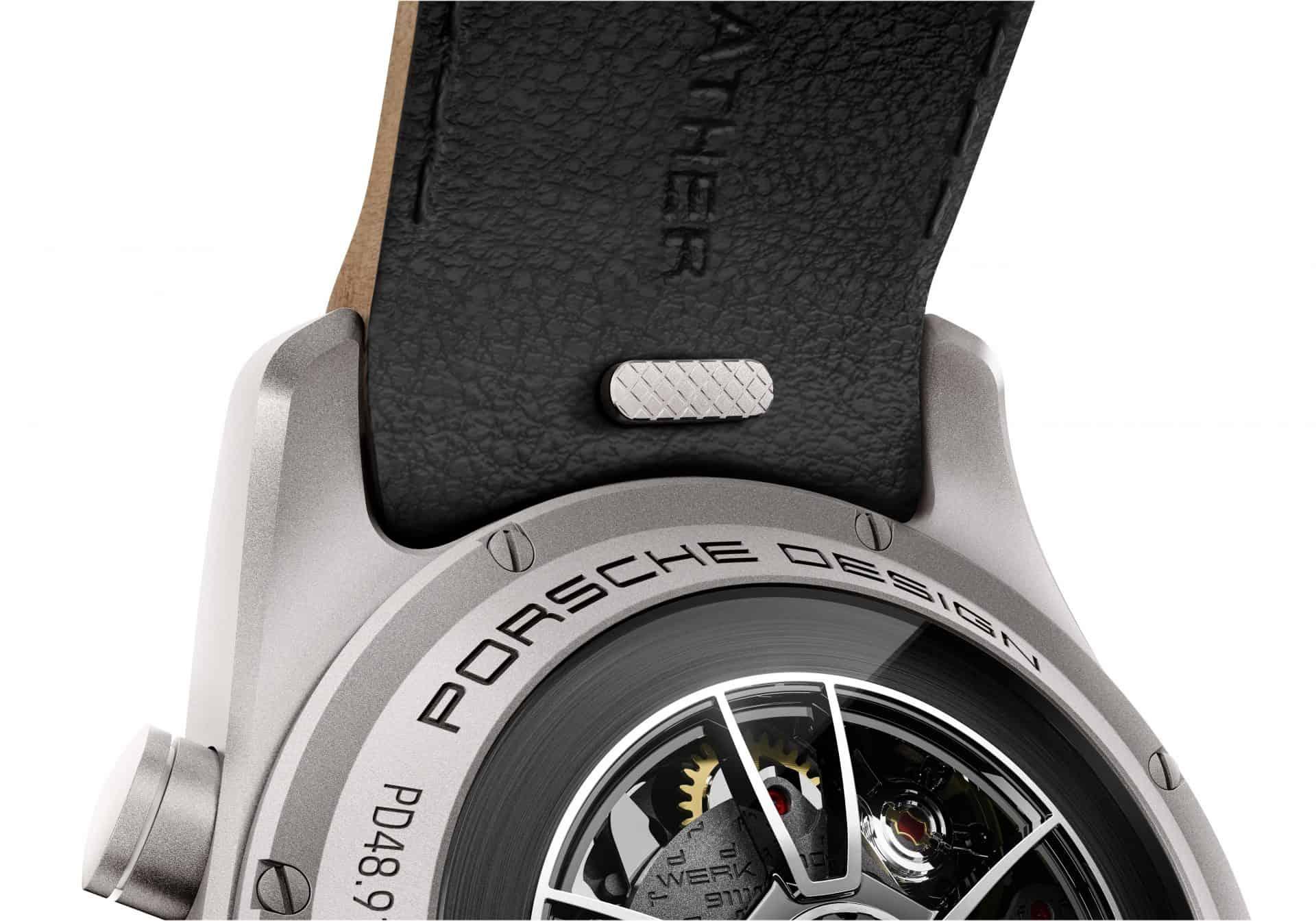 Das Porsche Design custom-built Timepieces Programm ermöglicht Bandwechsel im Pitstop-Tempo