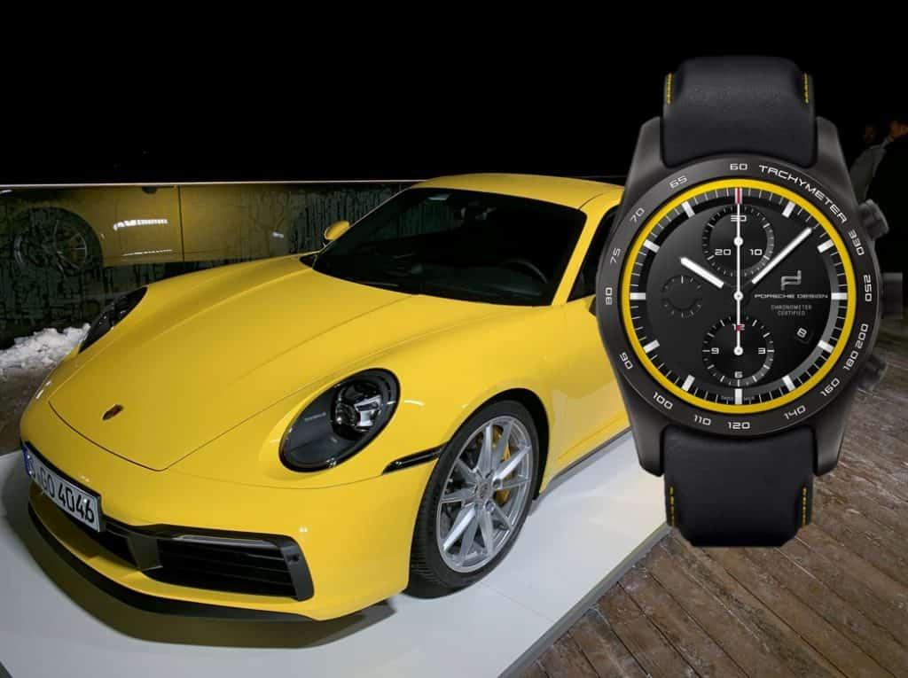 Die Uhr zum Auto: Porsche Design custom-built Timepiece