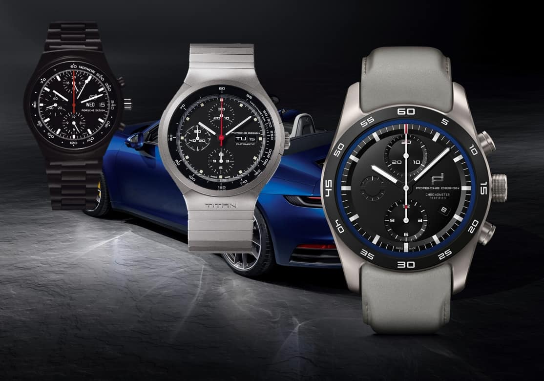 Porsche Design custom built Timepieces 2020 Uhrenkosmos