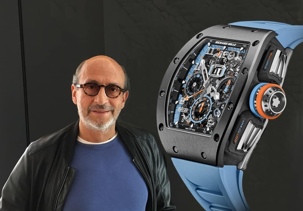 Richard Mille RM 11-05 Automatic Flyback Chronograph GMT mit innovativer Cermet-Lünette