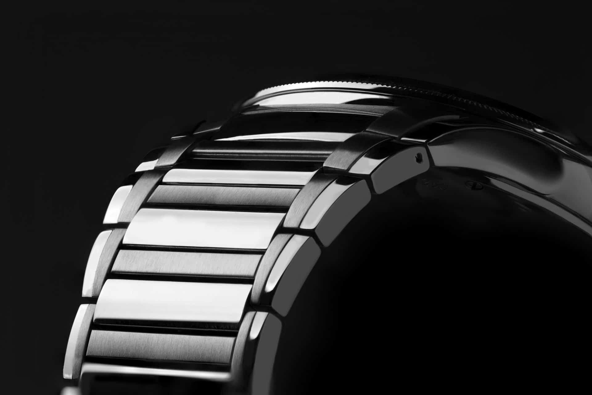 Das hochwertige Stahlband der Parmigiani Tonda GT