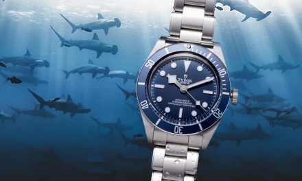 Eine marineblaue Tudor Black Bay Fifty-Eight Navy Blue mit Geschichte