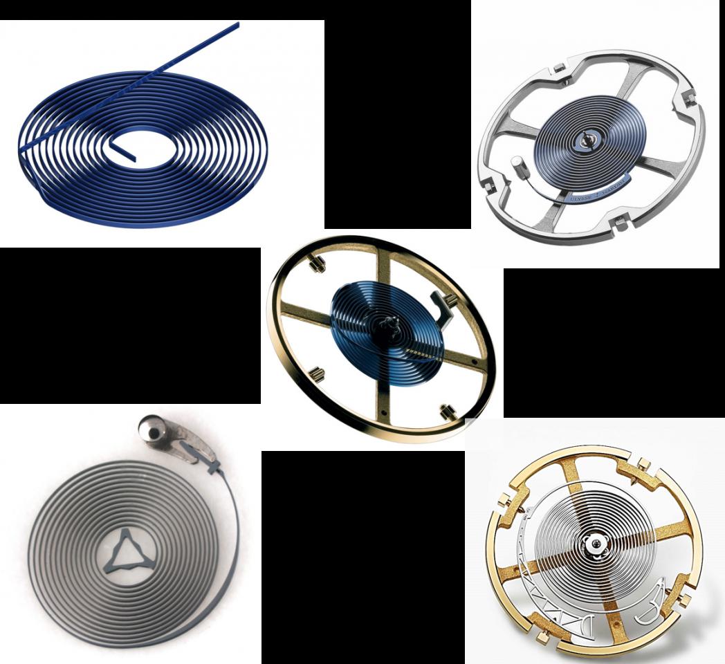 Die Entwicklung der Spiralfeder und der Vorteil  der Breguet-Spirale