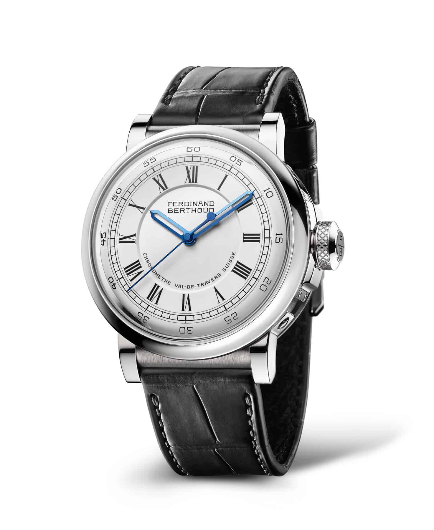 Ferdinand Berthoud Chronometer FB2 verwendet ethisch verantwortungsvoll gewonnenes Weißgold