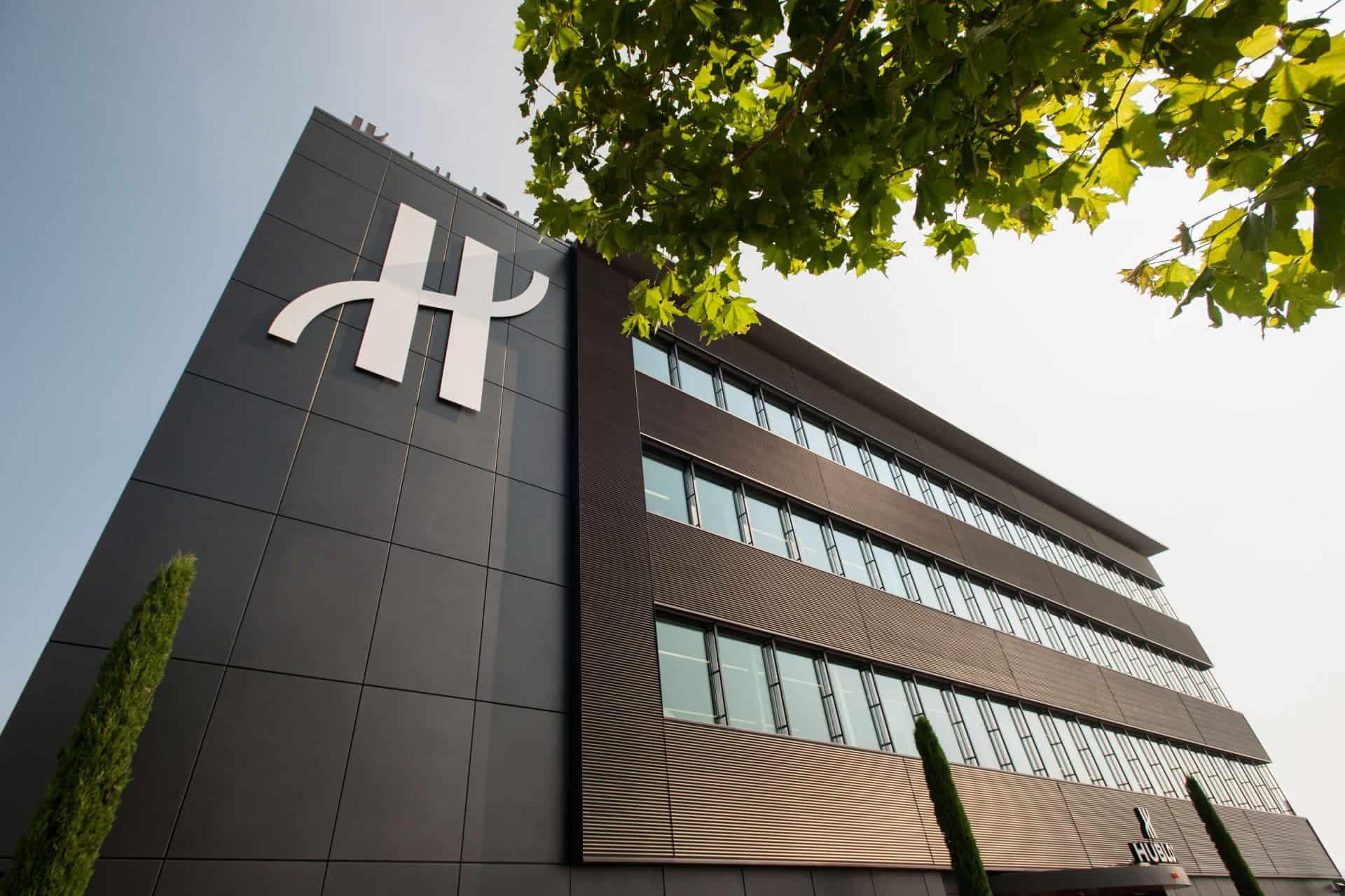 Das noble Hublot Manufakturgebäude in Nyon war 2007 noch weit entfernt