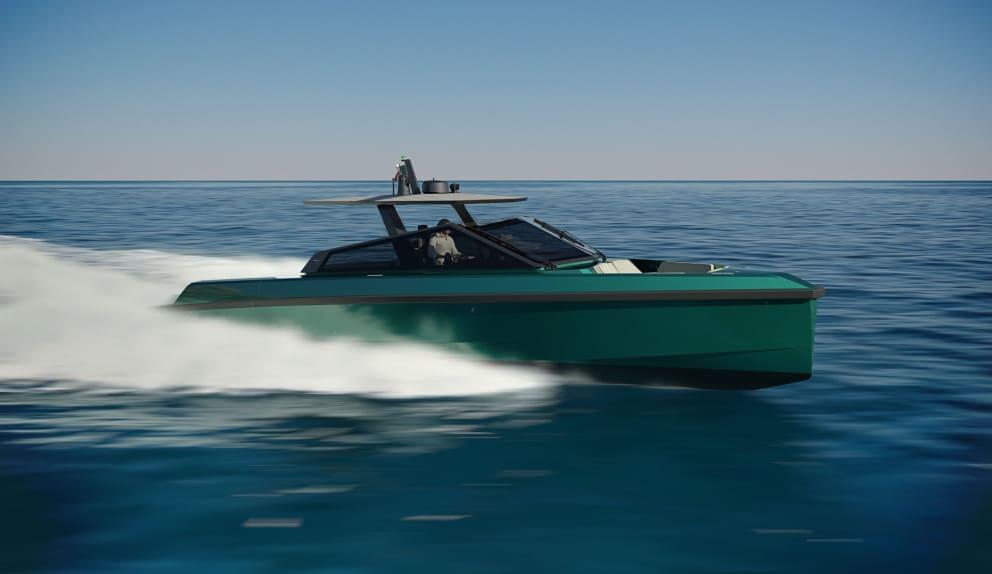 Wally Yacht im modernen Design