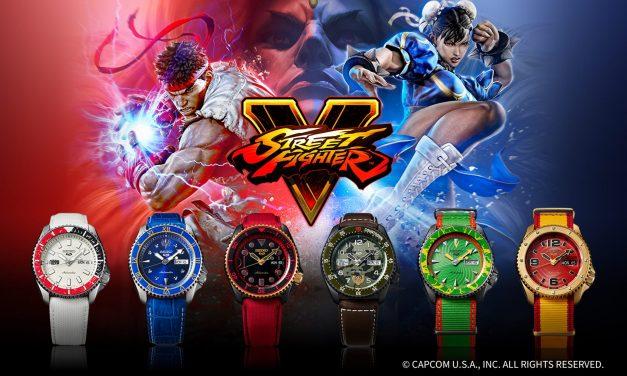 6 bunte Charaktere: Die Seiko 5 Sports Street Fighter V Edition