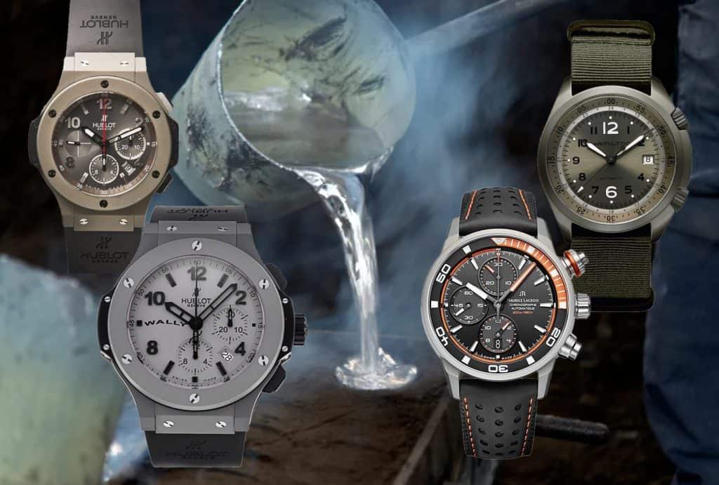Aluminium Guss und Hublot Maurice Lacroix Hamilton Uhr mit Aluminium Gehäuse Opener