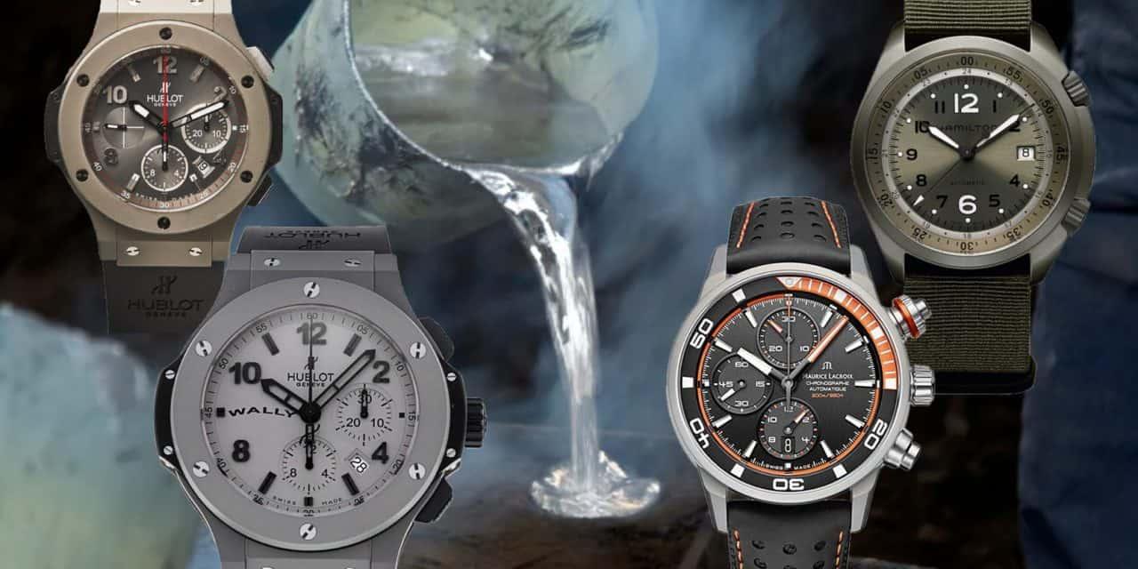 Seltene Leichtgewichte: Uhren aus Aluminium