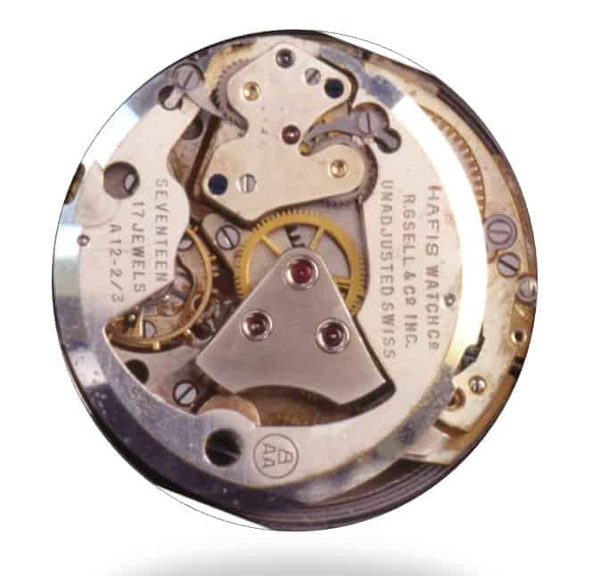 Automatikkaliber Bueren 525 für die Hafis Watch Co.