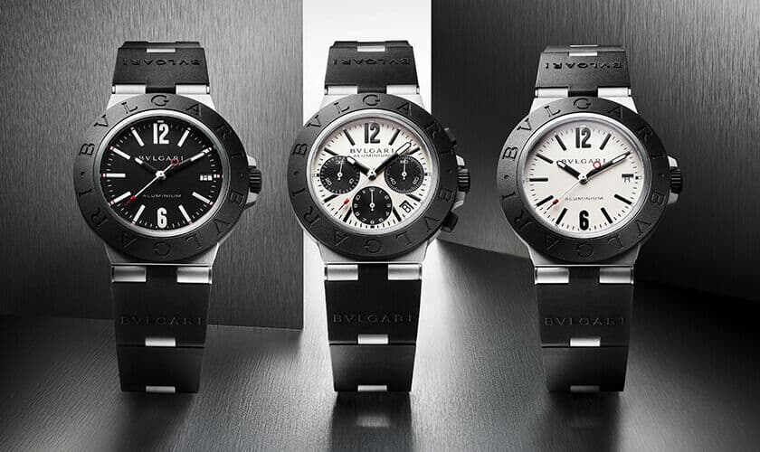 Aluminium Uhr Bulgari Diagono Aluminium von 2020