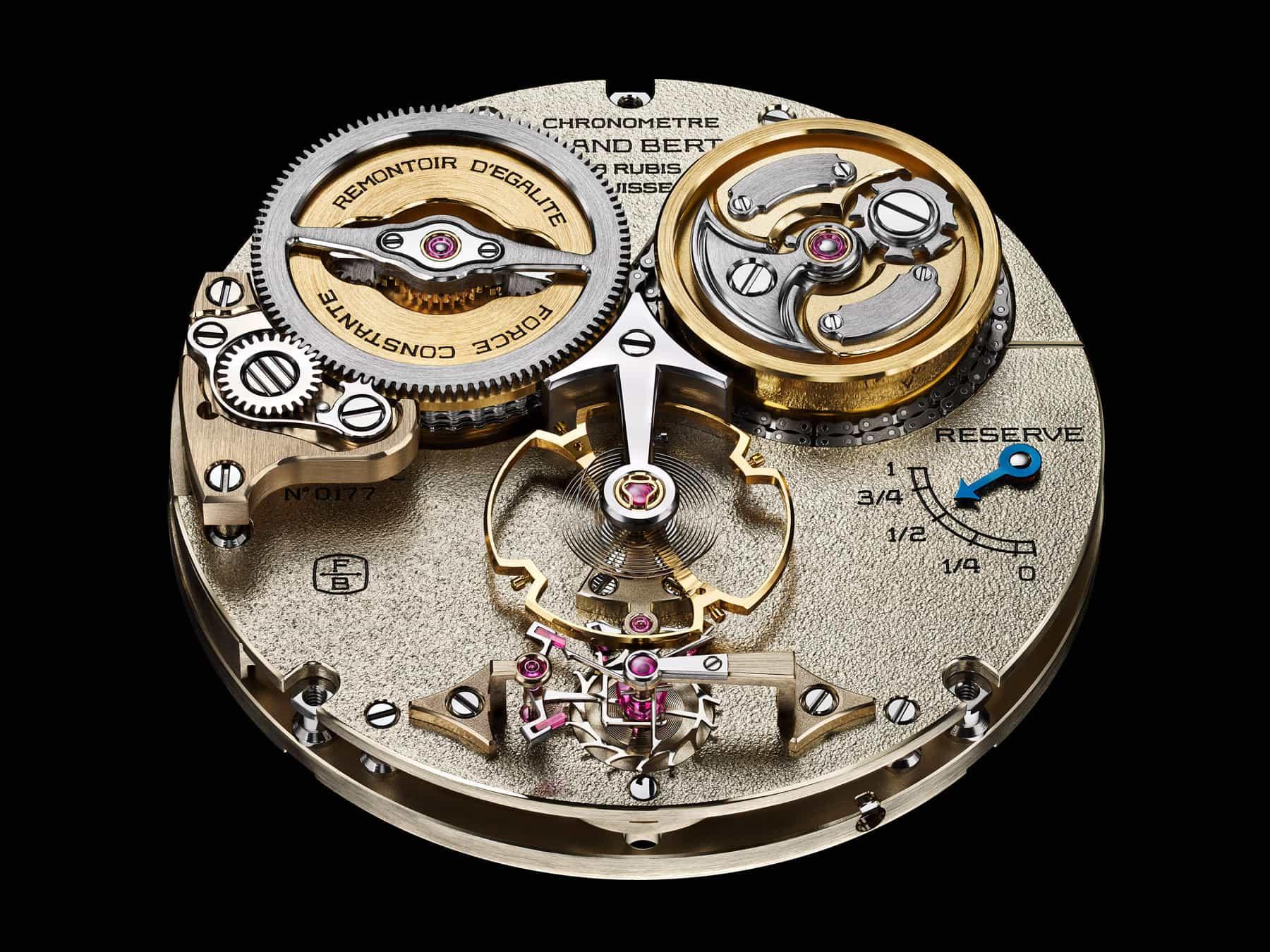 Das Chronometrie Kaliber Berthoud FB-RE.FC