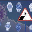 Uhren-Exporte der Schweizer Uhrenindustrie im Juni noch bei fast minus 50%