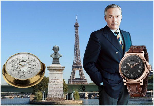 Konstantkraft-Antrieb und springende Sekunde: Ferdinand Berthoud Chronometer FB 2