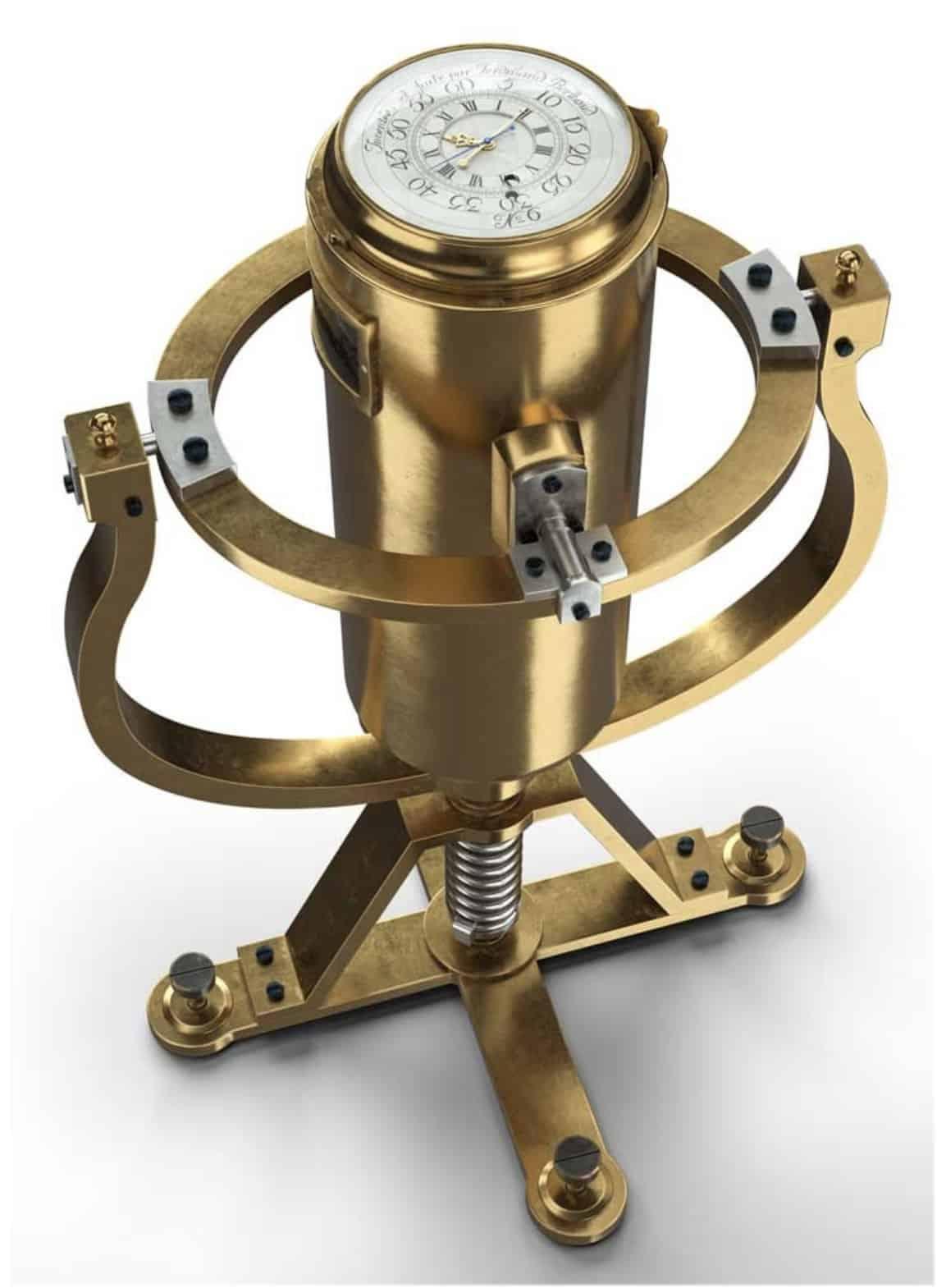 Der historische Ferdinand-Berthoud-Marinechronometer-Nr.-6-1777