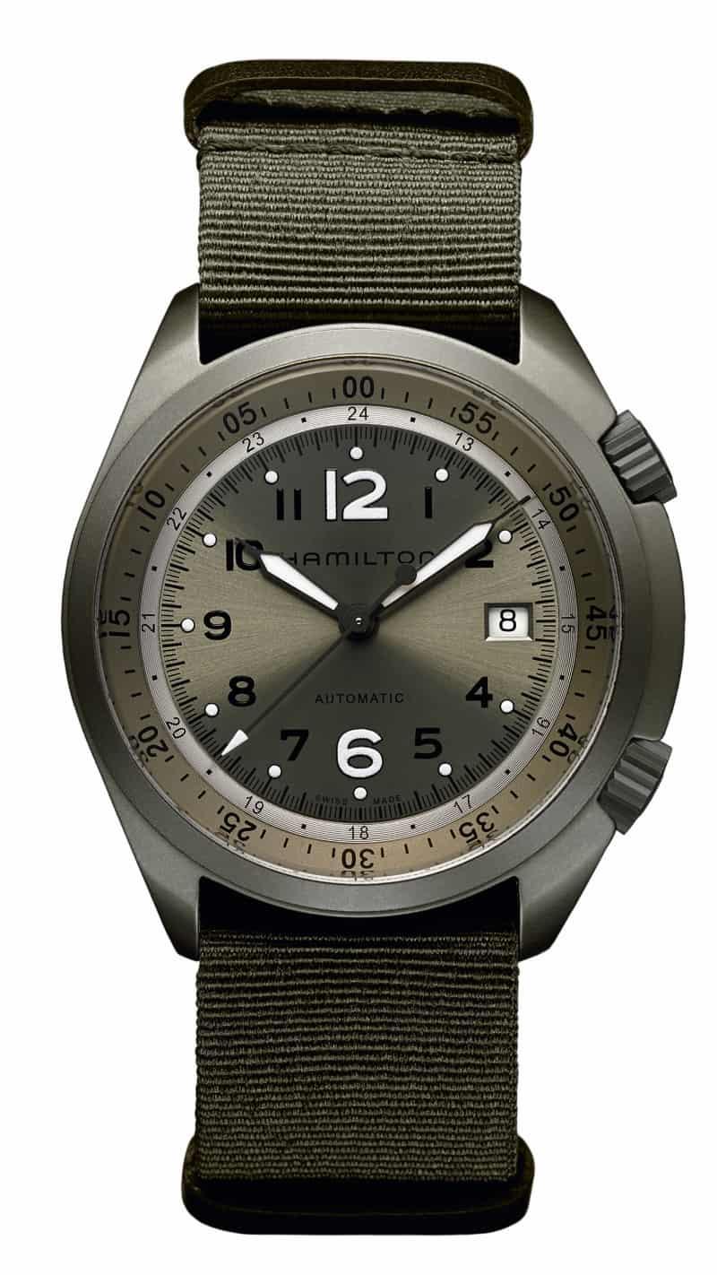 Uhren aus Aluminium sind sportlich - wie die Hamilton Khaki Pioneer Aluminum