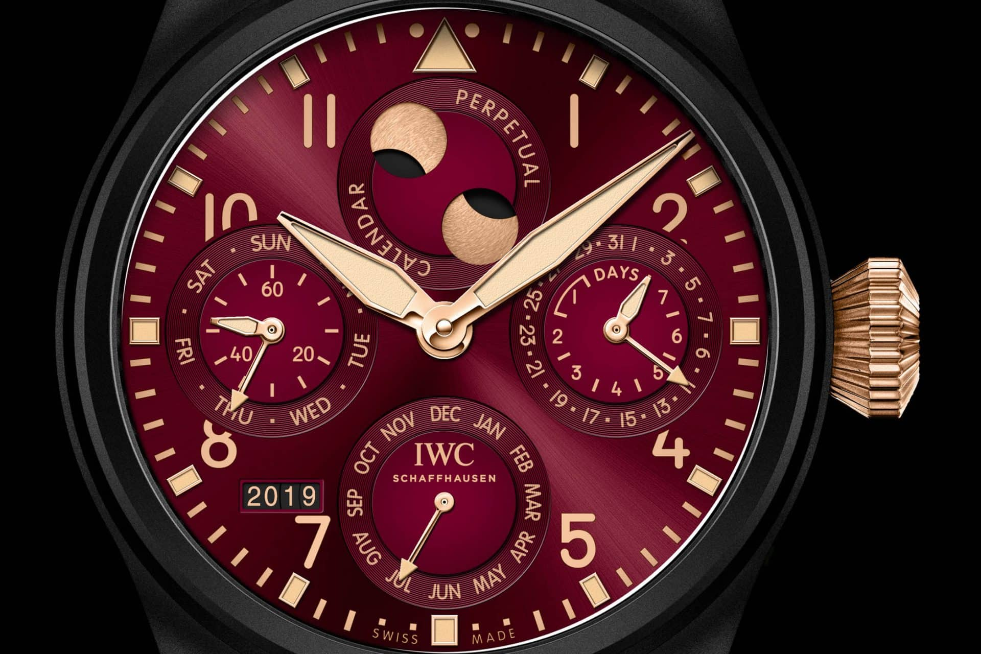 Formel 1 Chronographen wie der IWC Big Pilots Watch Perpetual Calendar Edition Lewis Hamilton Zifferblatt brauchen Eigenständigkeit