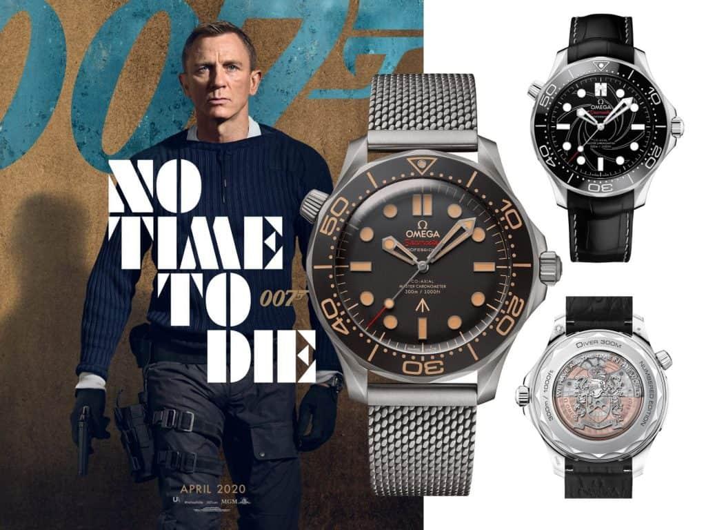 James Bond No time to die und Omega Seamaster 300M James Bond Edition