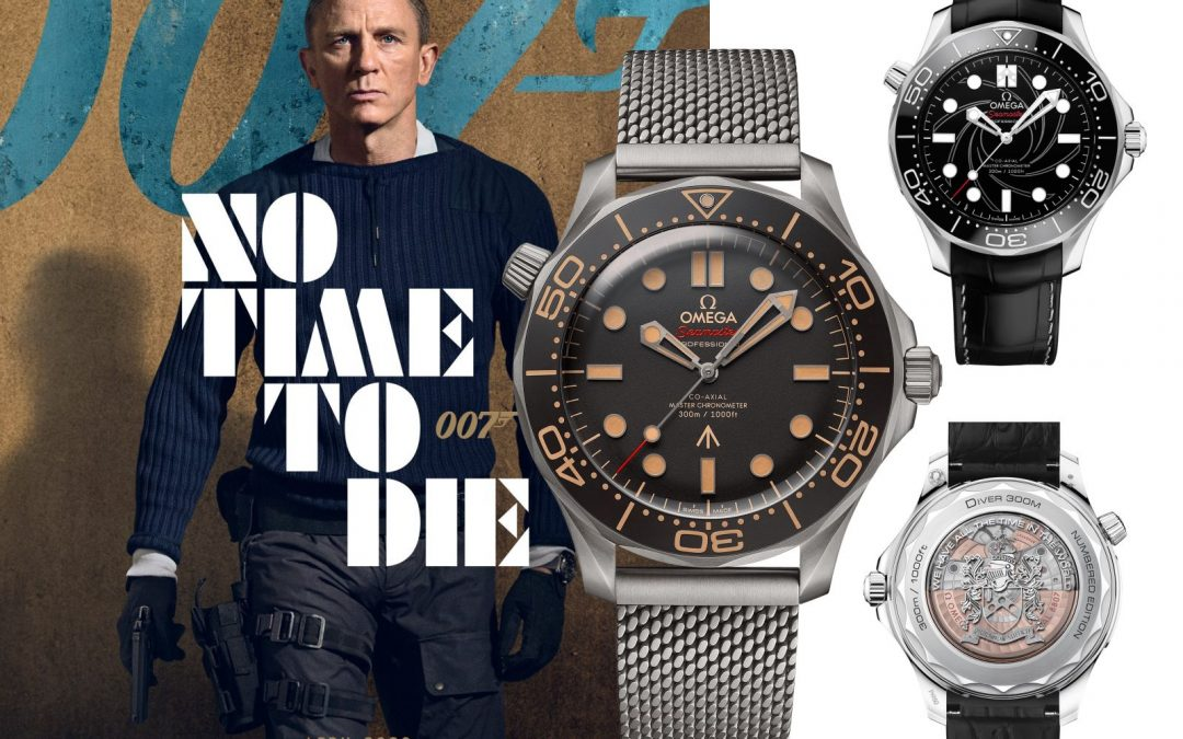 Omega Seamaster Diver 300m 007 James Bond Uhren Omega Seamaster Diver 300M James Bond: Die Bond Uhr zu No time to die!