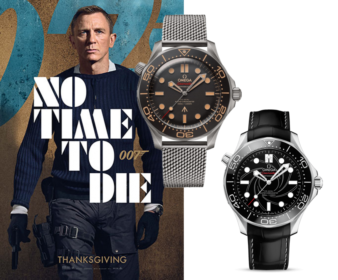 No Time to die? Dann liegt es an Den Omega Seamaster Diver 300M James Bond Uhren!