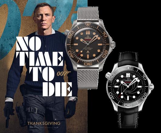No Time to die? Dann liegt es an der Omega Seamaster Diver 300M James Bond Uhr!