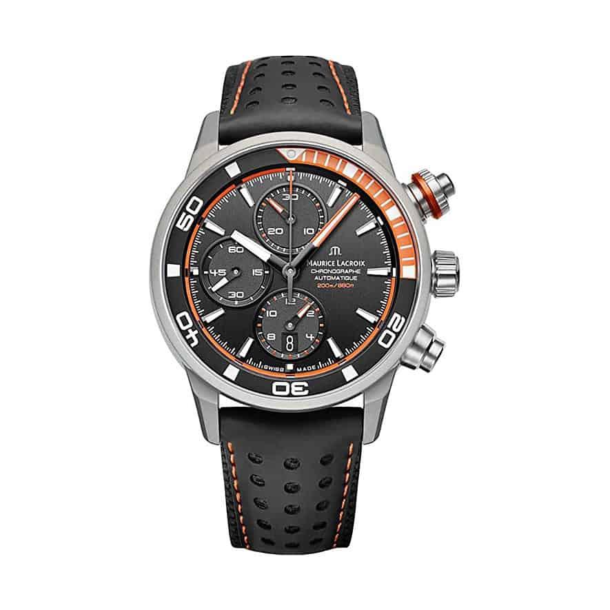 Aluminium-Uhr Maurice Lacroix Pontos S Extreme mit Powerlite Aluminium Gehäuse