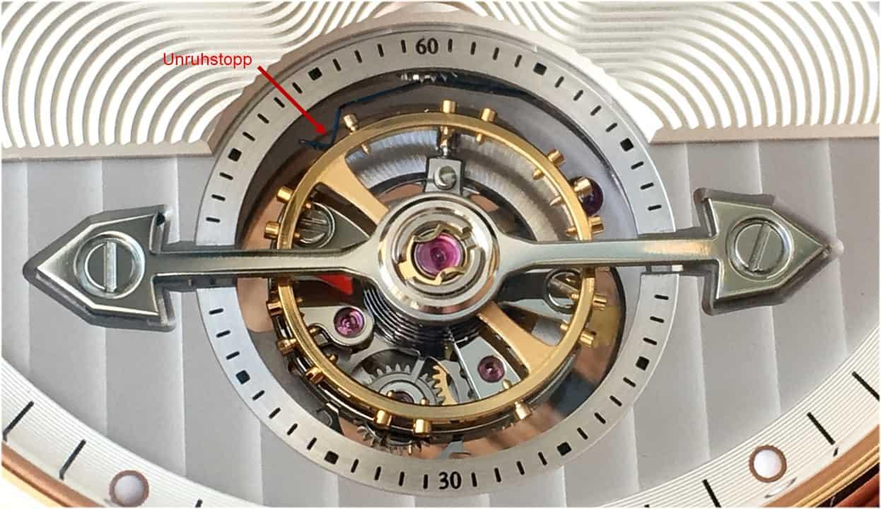 Das Tourbillon des Montblanc 4810 Exo Tourbillon Automatic slim
