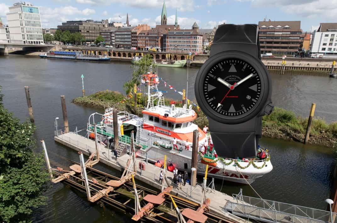 Mühle-Glashütte SAR Rescue Timer SK Hamburg Wempe