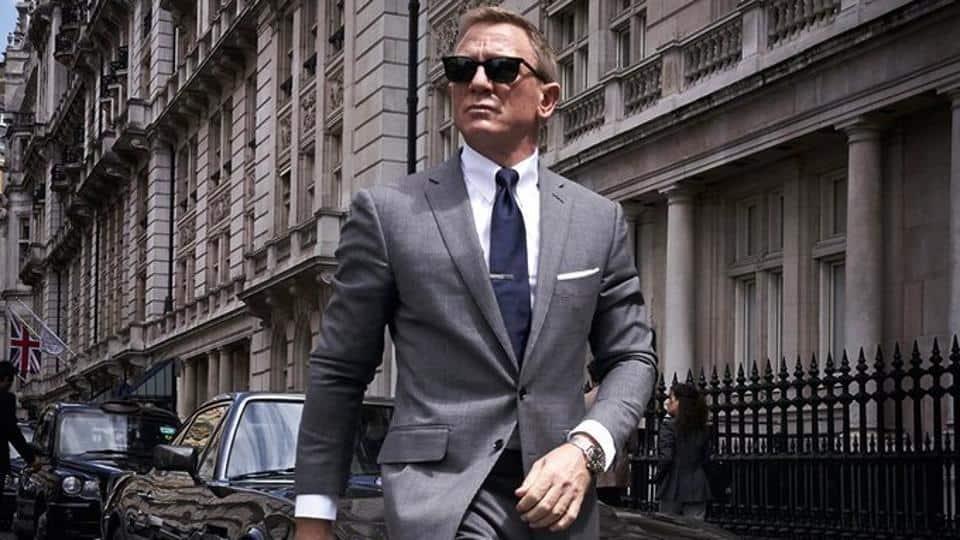 James Bond No time to die mit Omega-Uhr