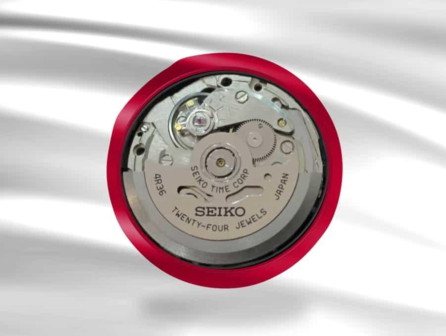Das bewährte Seiko Automatikkaliber Kaliber 4R36