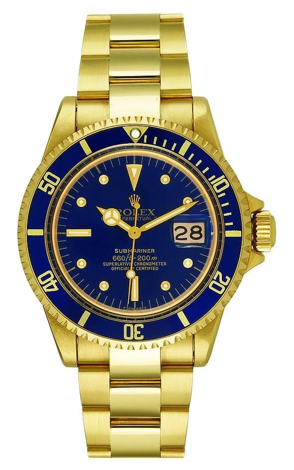 Goldene Rolex Submariner von 1969