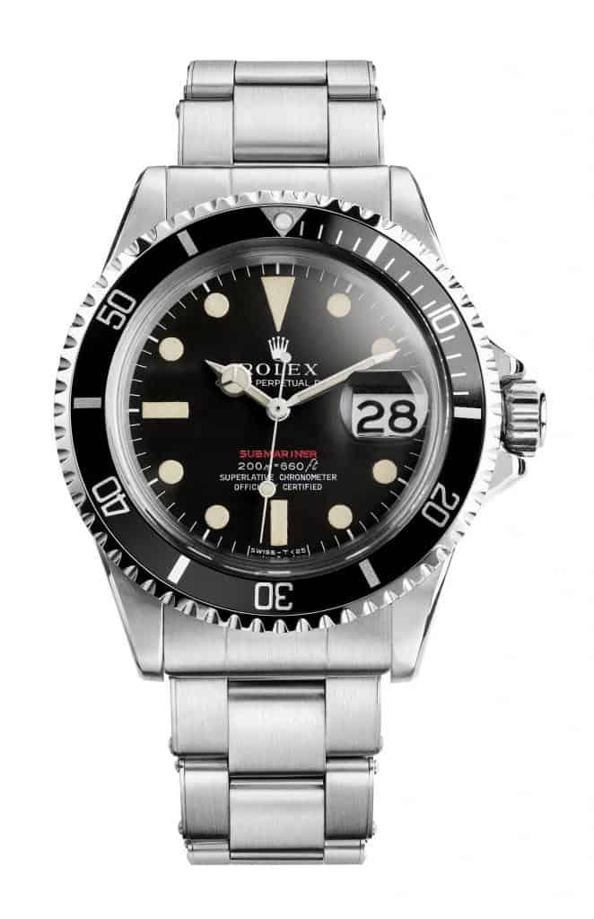 Rolex Submariner roter Schriftzug ab 1966 Kaliber 1575