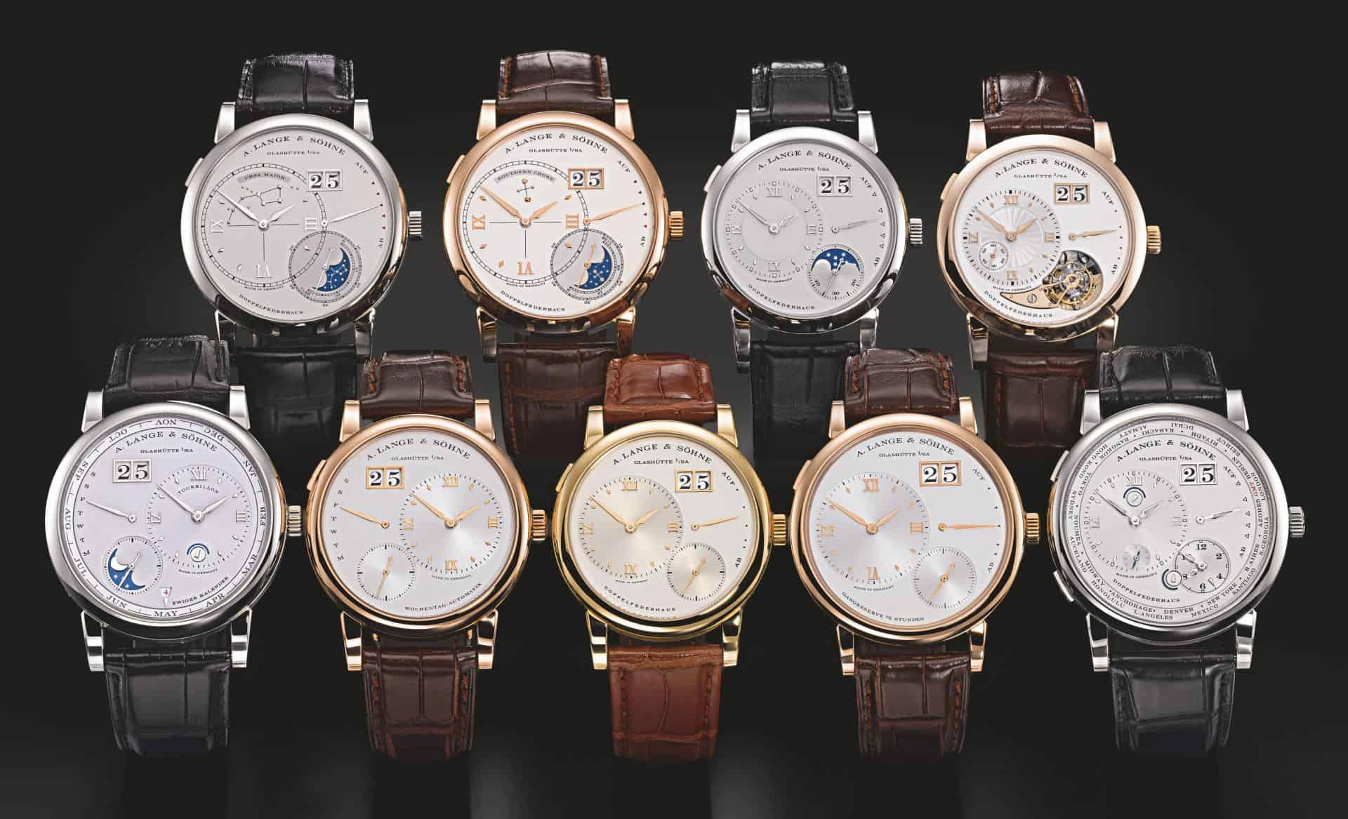 Die Uhren von A. Lange & Söhne im Jahr 2012