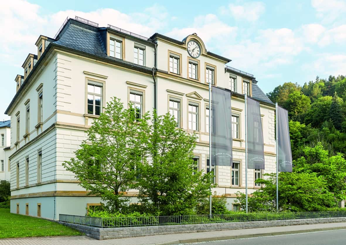 Stammhaus von A. Lange & Söhne in Glashütte