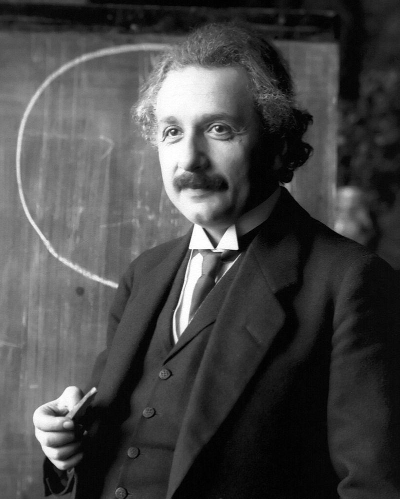 Albert Einstein im Jahr 1921