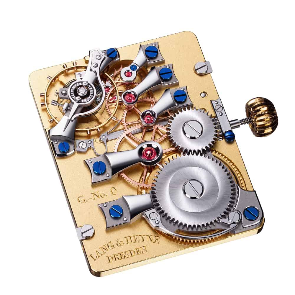 Für Mechanik Freunde gibt es die Lang & Heyne Handaufzugskaliber VIII
