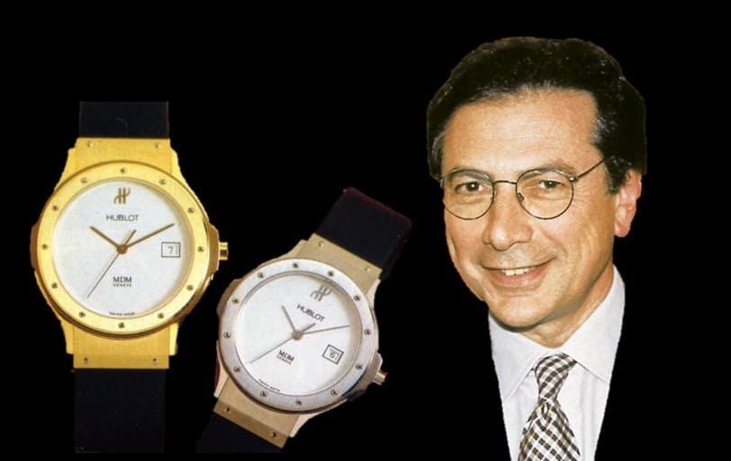 Carlo Crocco und seine MDM-Hublot-Uhren mit Quarzantrieb