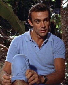 Sean Connery mit seiner Rolex Submariner in Dr. No